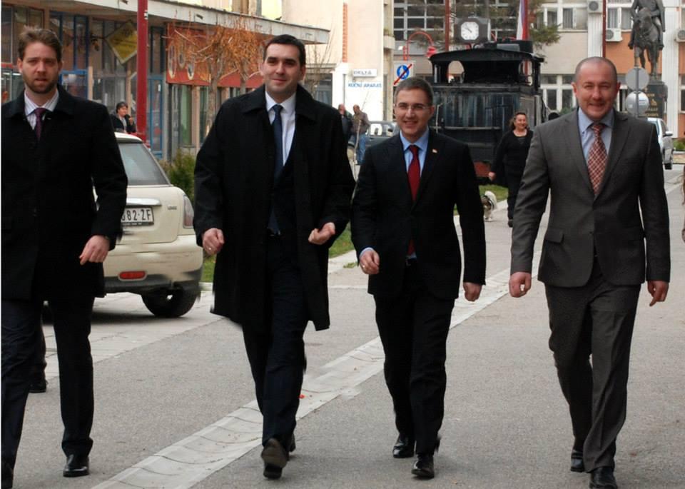 Nebojša Stefanović danas posetio Lapovo
