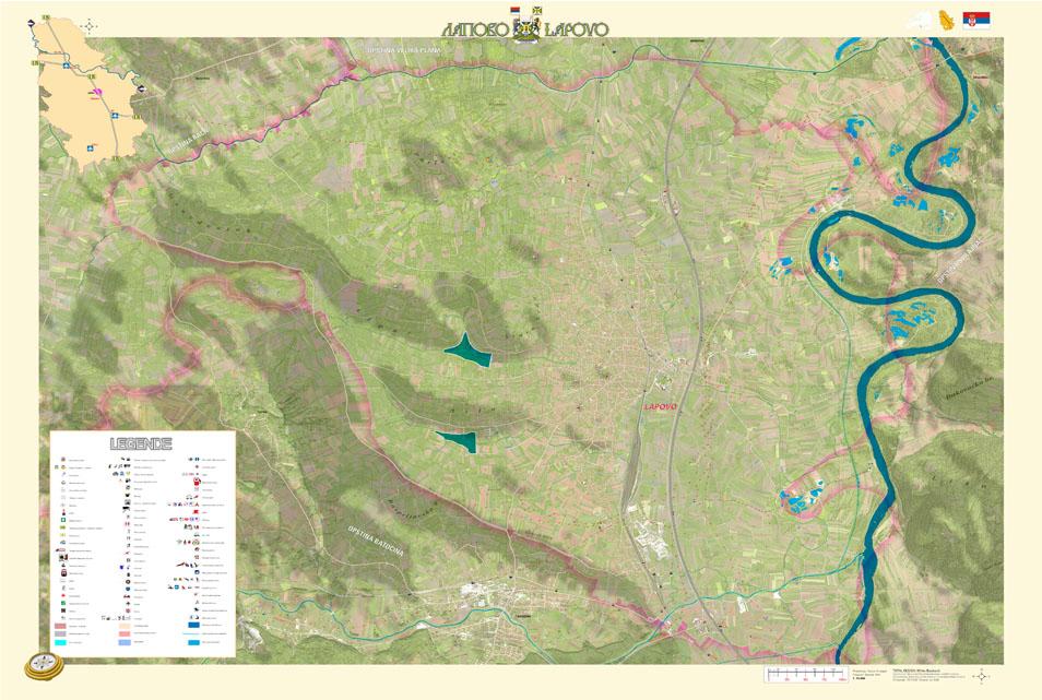 lapovo srbija mapa Položaj | Dobrodošli u Lapovo / Welcome to Lapovo lapovo srbija mapa